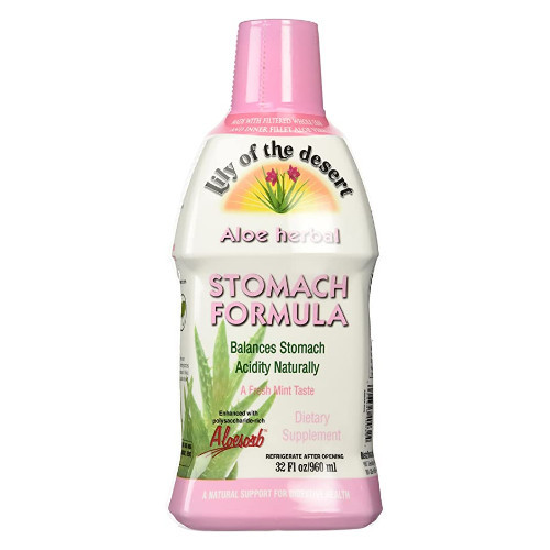 Lily of the Desert Stomach Formula maintains overall healthy digestion