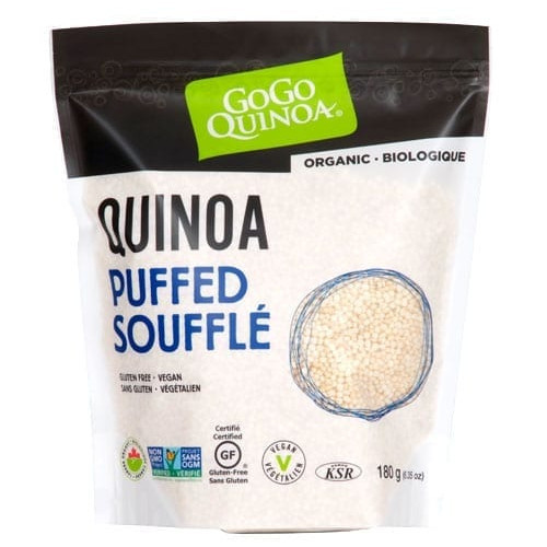 GoGo Quinoa Organic Quinoa Puffed  180 grams