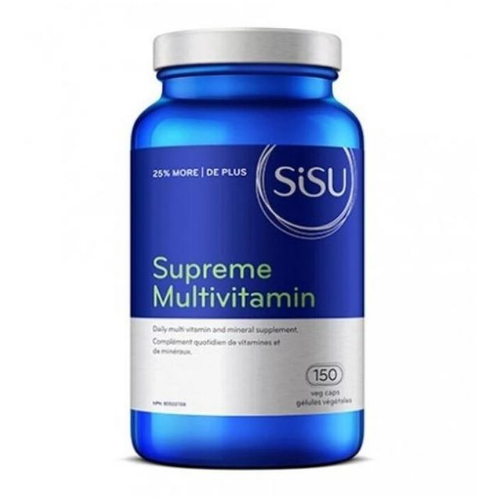 SISU Supreme Multivitamin with Iron 150 veg caps