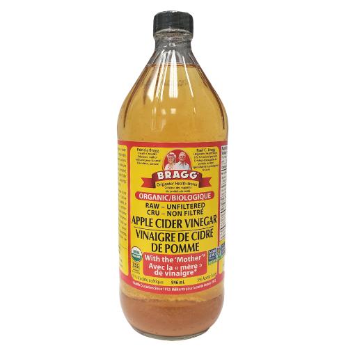 Bragg Organic Raw Apple Cider Vinegar With Mother 946 ml