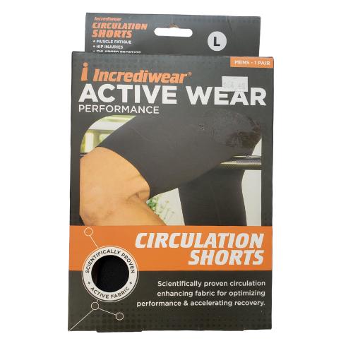 Incrediwear  Circulation Shorts Mens XXL