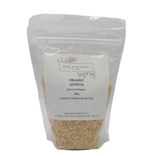 Good n Natural Health Food Store Organic Quinoa.