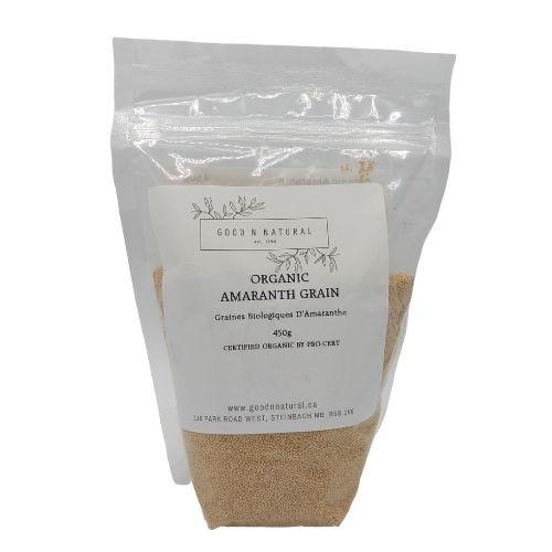 Good n Natural Health Food Store Organic Amaranth Grain.