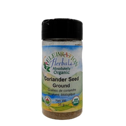 Celebration Herbals Organic Coriander Seed Ground.