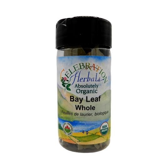 Celebration Herbals Organic Bay Leaf Whole.
