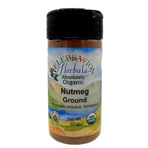 Celebration Herbals Organic Nutmeg Ground.