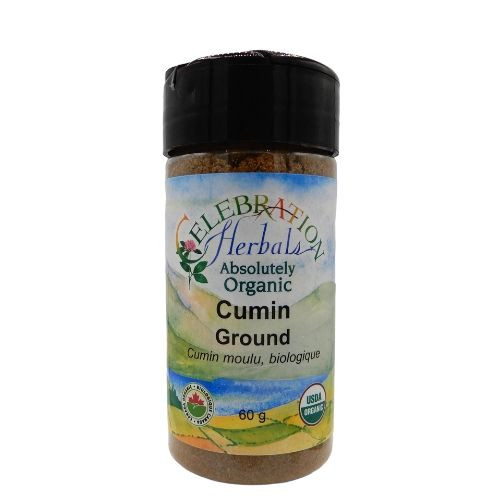 Celebration Herbals Organic Cumin Ground.