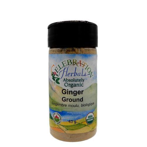 Celebration Herbals Organic Ginger Ground.