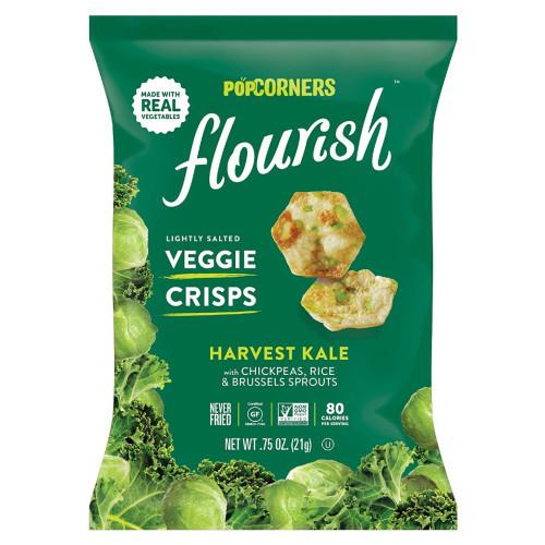 Popcorners Flourish Slightly Salted Veggie Crisps Harvest Kale