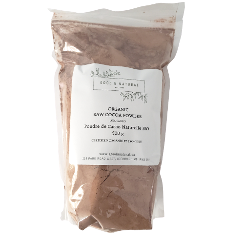 Good n Natural Organic Raw Cocoa Powder 500 grams