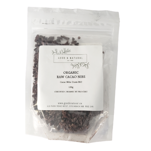 Good n Natural Organic Raw Cacao Nibs 100 grams