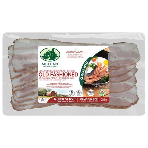 McLean Old Fashioned Bacon Breakfast Strips