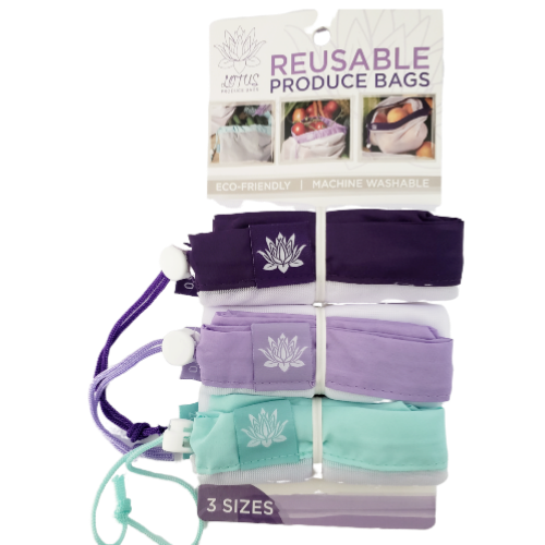 Lotus Reusable Product Bags - 23 pack