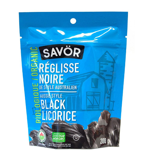 Savör Organic Aussie Style Black Licorice