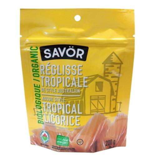 Savör Organic Aussie Style Tropical Licorice