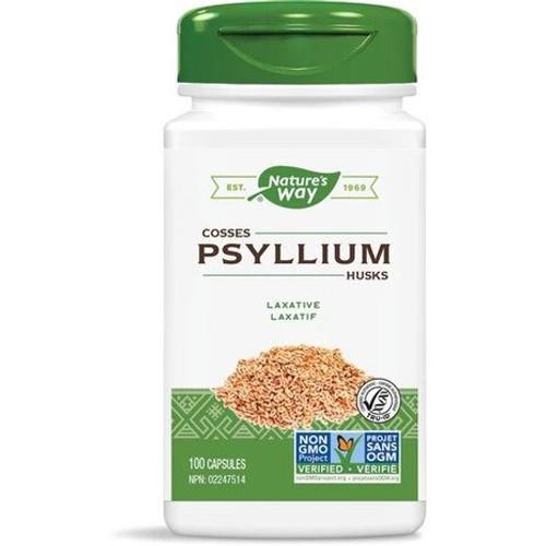 Nature's Way Psyllium Husks 100 capsules Canada