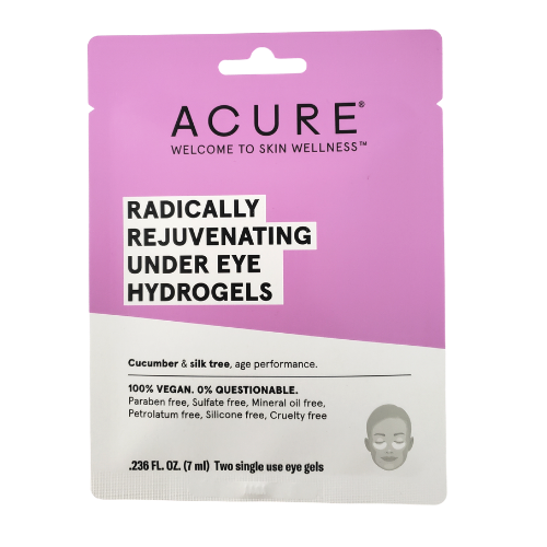 Acure Radically Rejuvenating Under Eye Hydrogels single use pack