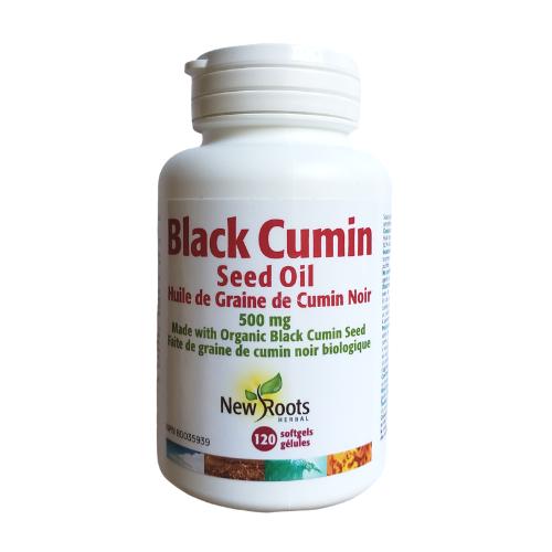 New Roots Black Cumin Seed Oil 120 softgels