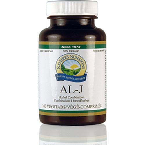 Nature's Sunshine AL-J 100 tablets