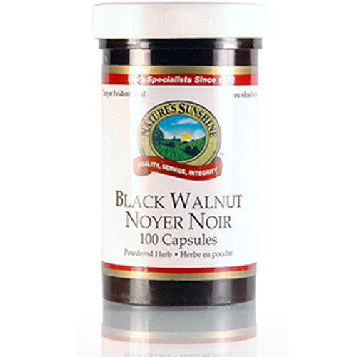 Nature's Sunshine Black Walnut 100 capsules
