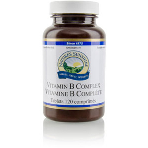 Nature's Sunshine Vitamin B Complex 120 tablets