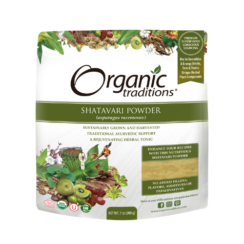 Organic Traditions Shatavari Powder 200 grams