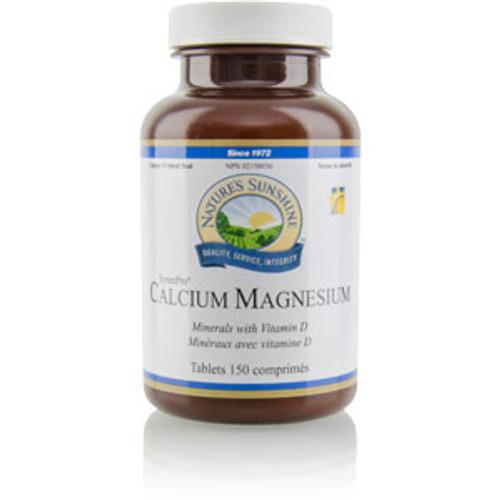 Natures-Sunshine Calcium Magnesium 150 tablets