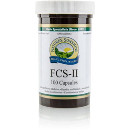 Nature's Sunshine FCS-II 100 capsules