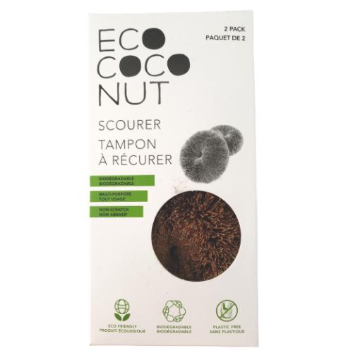 Eco Coco Nut Scourer 2 Pack Canada