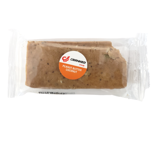 Cranked Energy Bars Peanut Butter Coconut