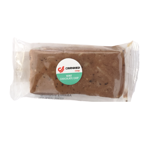 Cranked Energy Bars Mint Chocolate Chip 65 grams
