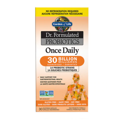 Garden of Life Dr. Formulated Probiotics Once Daily Shelf Stable 30 caps