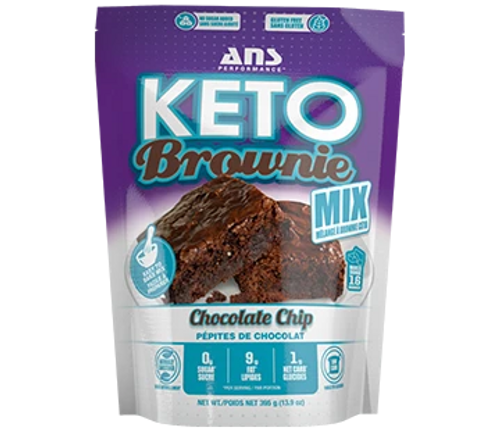 ANS Performance KETO Brownie Mix Chocolate Chip Canada