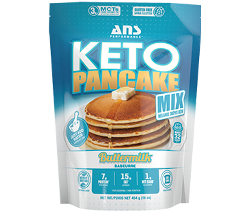 Ans Performance Keto Pancake Buttermilk Mix 454 grams