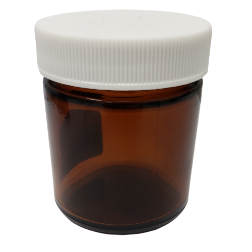 Pure Potent WOW Amber Refillable Glass Jar 50 ml