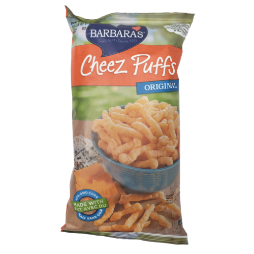 Barbaras Cheez Puffs Original 198 grams