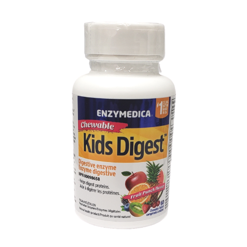 Enzymedica Chewable Kids Digest Digestive Enzyme 60 tablets