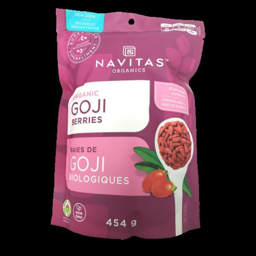 Navita Organics Organic Goji Berries 454 grams Canada