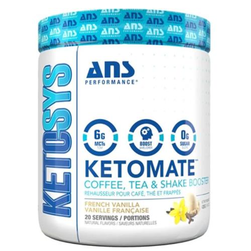ANS Performance KETOMATE French Vanilla Coffee Tea Shake Booster