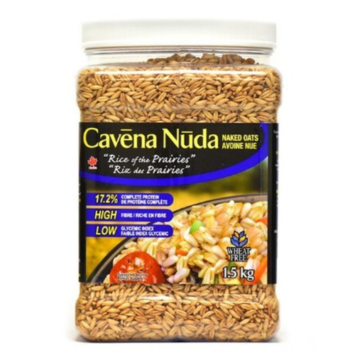 Wedge Farms Cavena Nuda Naked Oats its the rice of the prairies.  1.5 kg.