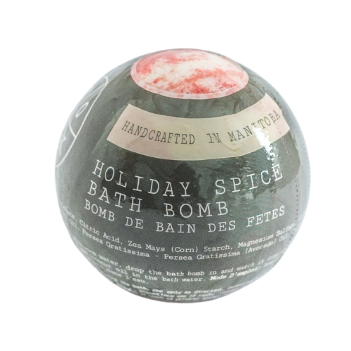 SOAK Holiday Spice Bath Bomb