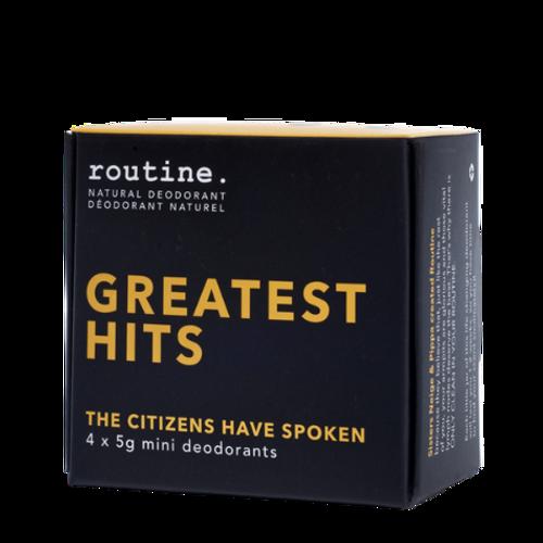 Routine. - Greatest Hits Natural Deodorant Box