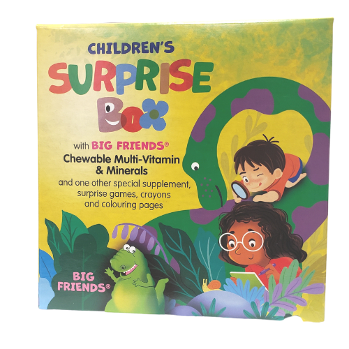 Natural Factors Children's Surprise Box with Big Friends