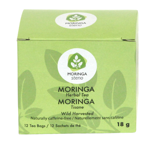Moringa Steno Herbal Tea 12 tea bags Canada