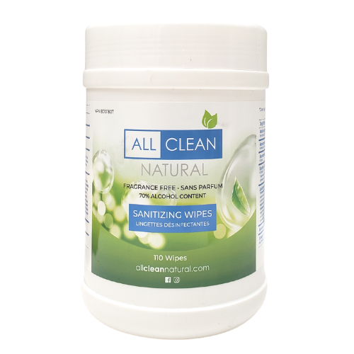 All Clean Natural Fragrance Free Sanitizing Wipes 1 KG