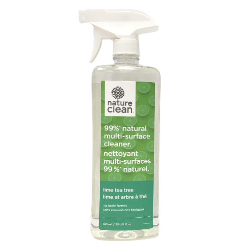 Nature Clean Multi-Surface Cleaner Lime Tea Tree 740 ml