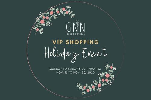 GNN VIP Shopping Holiday Event