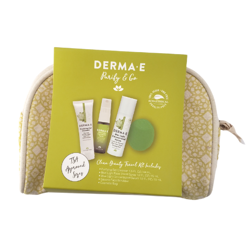 Derma-E-Purify & Go Clean Beauty Travel Kit