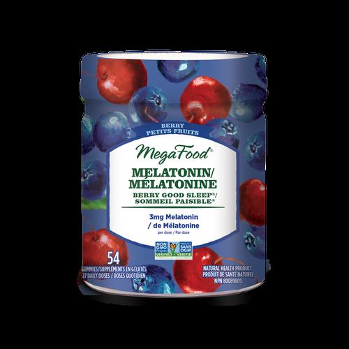 MeagaFood Melatonin 3 mg Berry Good Sleep 54 gummies