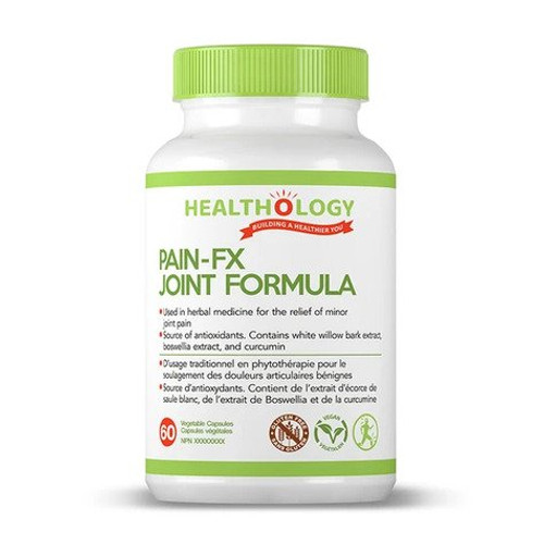 Healthology Pain-FX Joint Formula 60 vegetable capsules